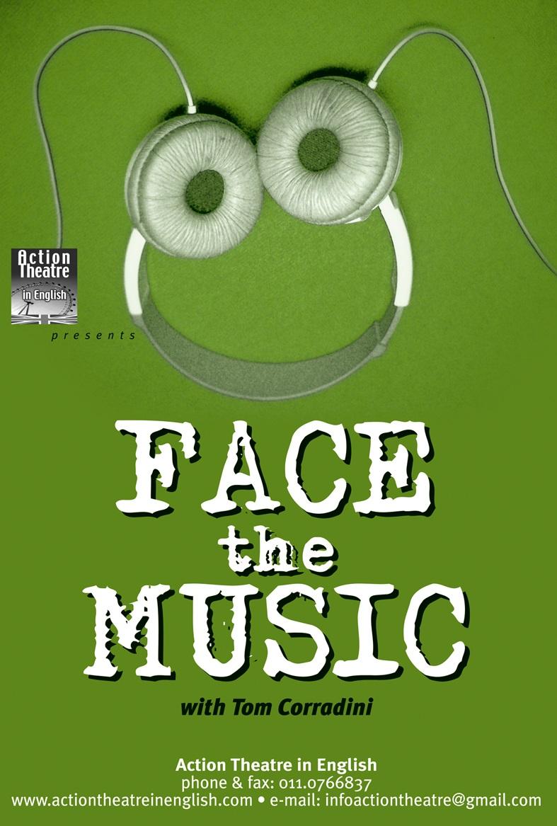 FACE THE MUSIC - Spettacolo in lingua inglese per le scuole