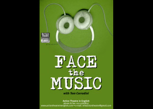 Face the Music - English music-comic show for high schools