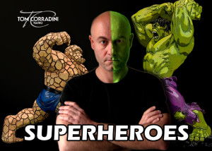 Superheroes comic and physical theatre show